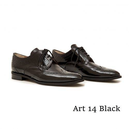 Shoes Art Π14 Black