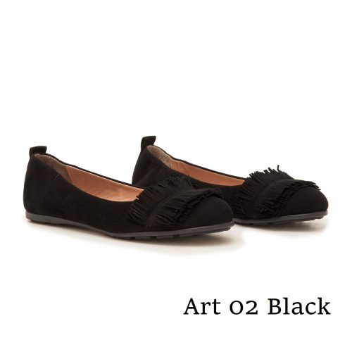 Shoes Art 02 Black Suede