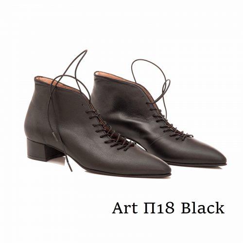 Shoes Art Π18 Black