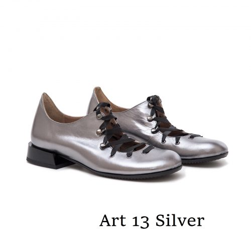 Shoes Art 13 Silver