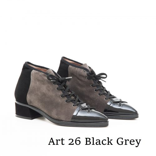 Shoes Art 26 Black Grey