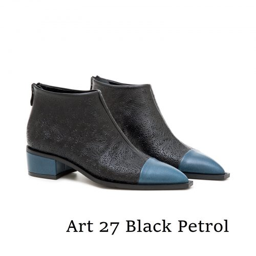 Shoes Art 27 Black Petrol