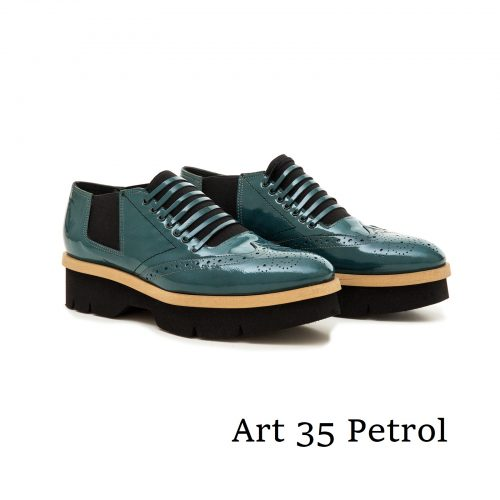 Shoes Art 35 Petrol