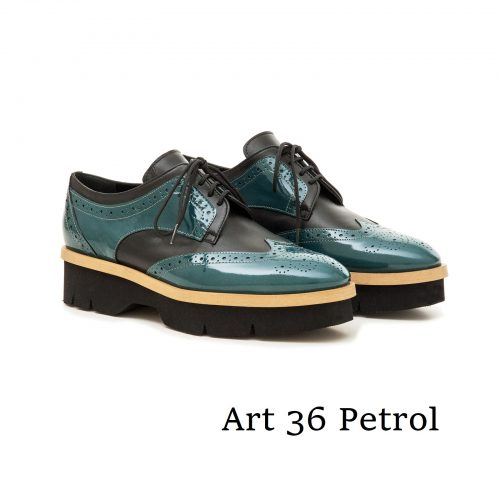 Shoes Art 36 Petrol