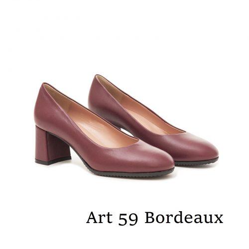 Shoes Art 59 Bordeaux
