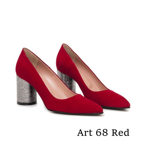 Shoes Art 68 Red