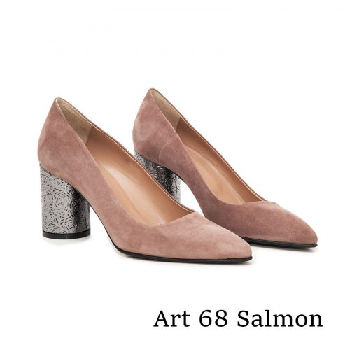 Shoes Art 68 Salmon