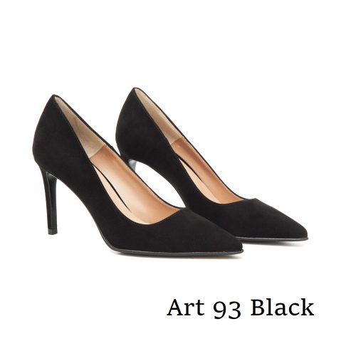 Shoes Art 93 Black Suede