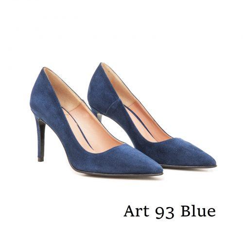 Shoes Art 93 Blue Suede