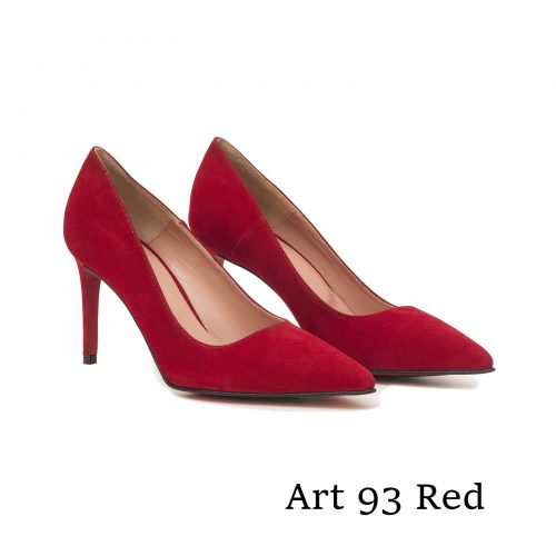 Shoes Art 93 Red Suede
