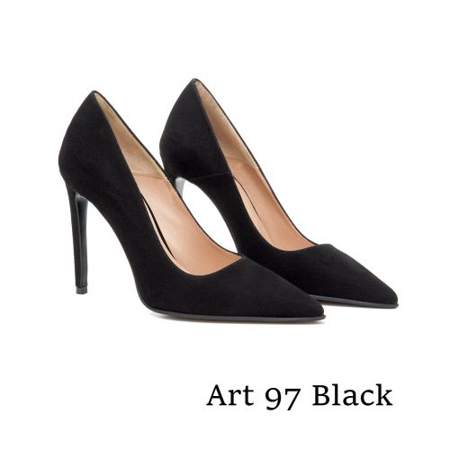 Shoes Art 97 Black Suede
