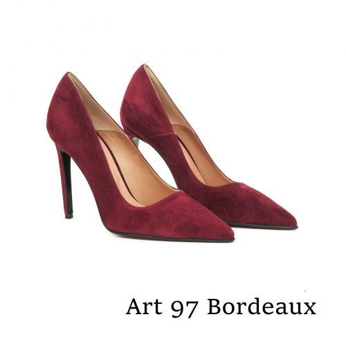 Shoes Art 97 Bordeaux Suede