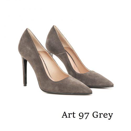 Shoes Art 97 Grey Suede
