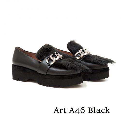 Shoes Art Α46 Black