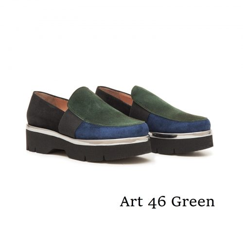 Shoes Art 46 Green