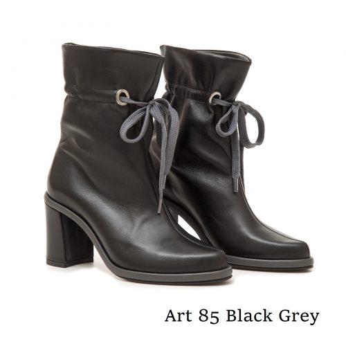 Shoes Art 85 Black Grey