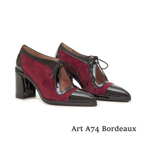 Shoes Art A74 Bordeaux