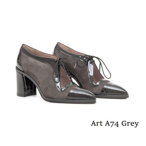 Shoes Art A74 Grey