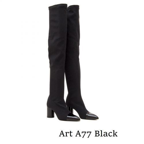 Shoes Art A77 Black