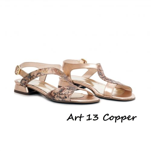 Shoes Art 13 Copper