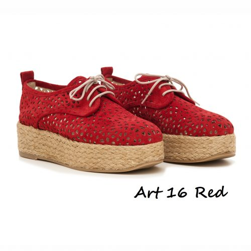 Shoes Art 16 Red