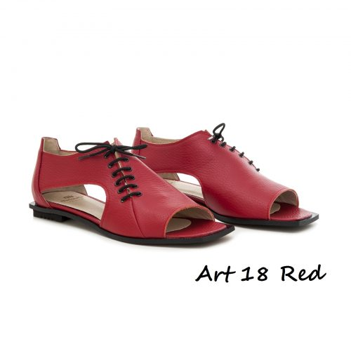 Shoes Art 18 Red