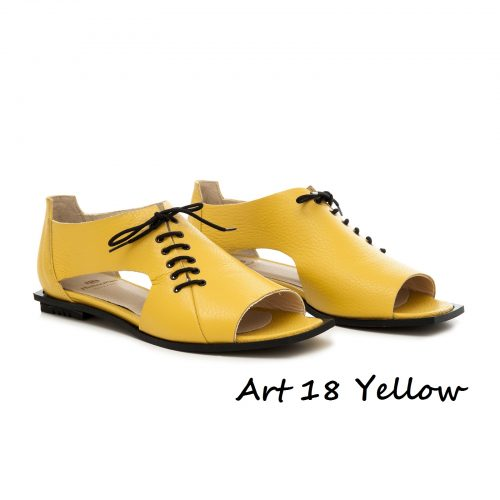 Shoes Art 18 Yellow