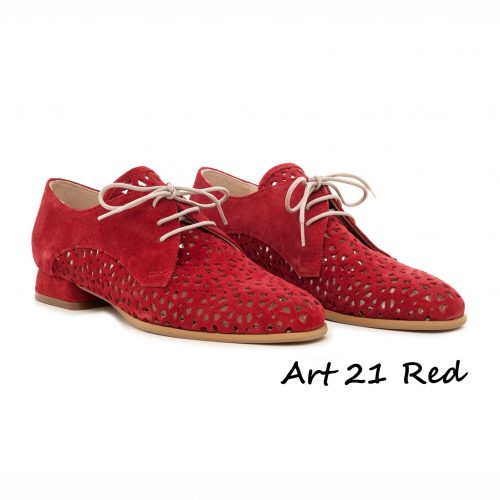 Shoes Art 21 Red