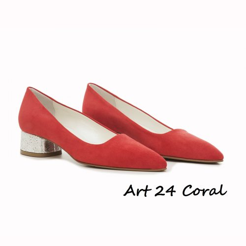 Shoes Art 24 Coral