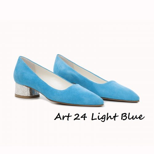 Shoes Art 24 Light Blue