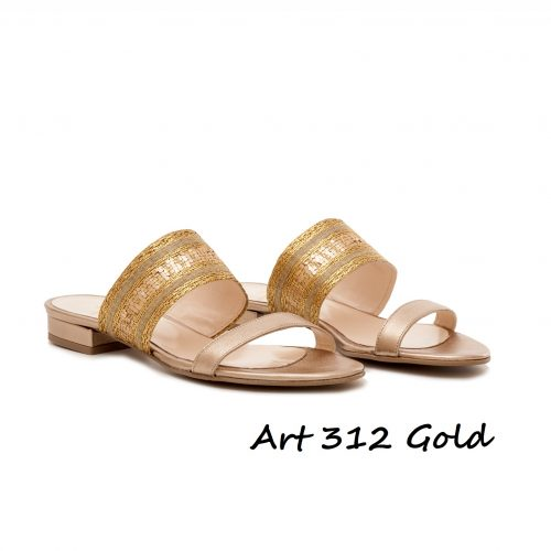Shoes Art 312 Gold