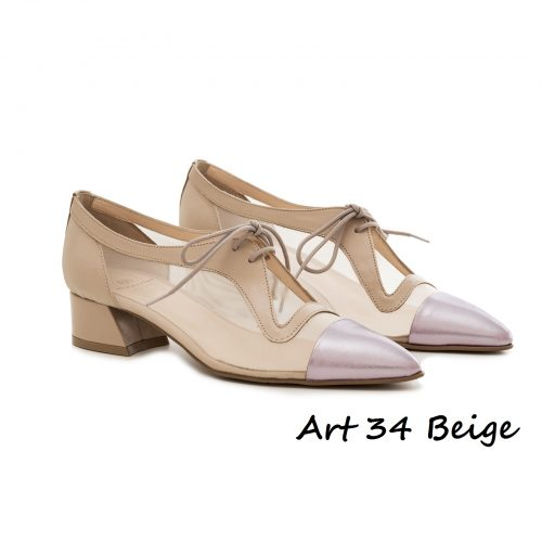 Shoes Art 34 Beige