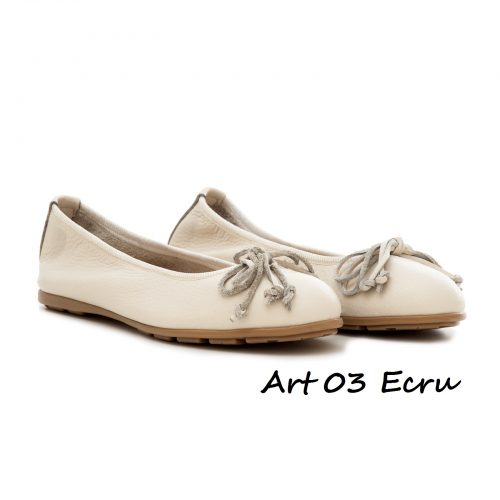 Shoes Art 03 Ecru