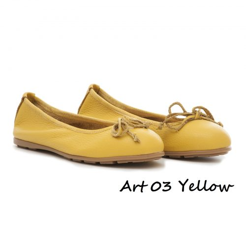 Shoes Art 03 Yellow