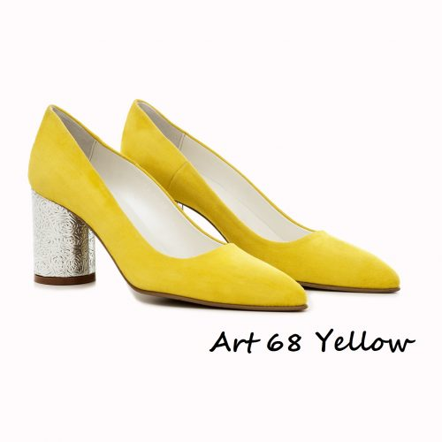 Shoes Art 68 Yellow