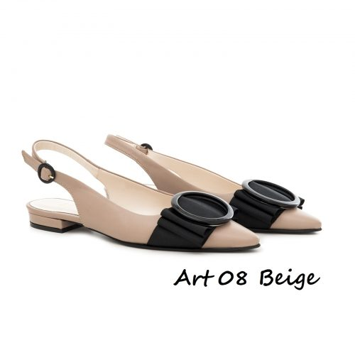 Shoes Art 08 Beige