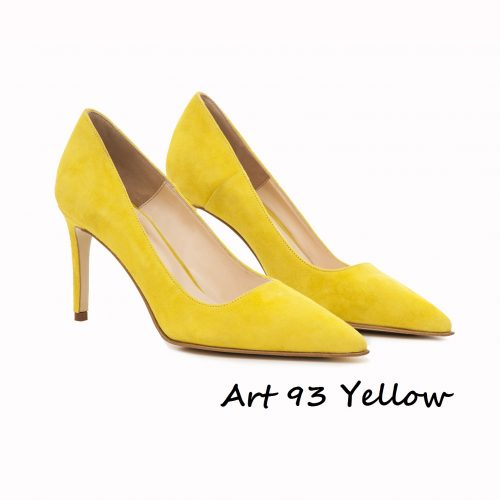 Shoes Art 93 Yellow