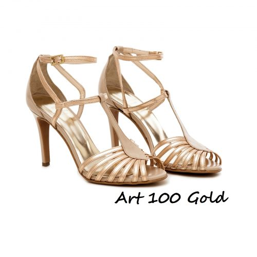 Shoes Art 100 Gold