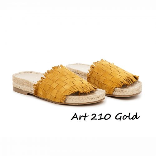 Shoes Art 210 Gold