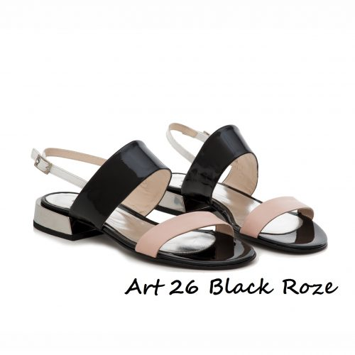 Shoes Art 26 Black Roze
