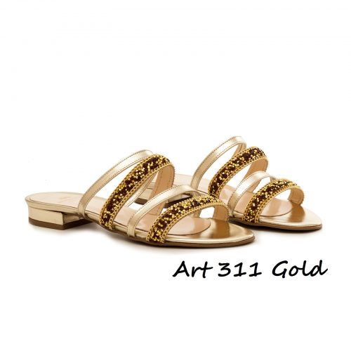 Shoes Art 311 Gold