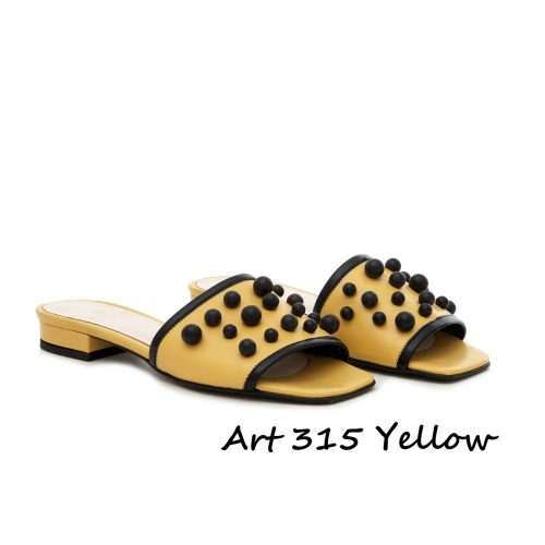 Shoes Art 315 Yellow