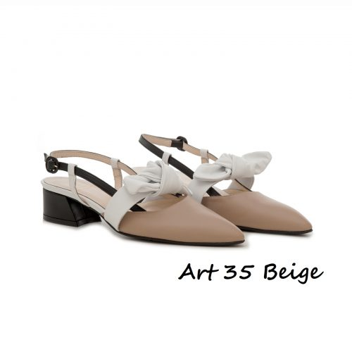 Shoes Art 35 Beige