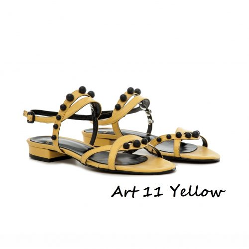 Shoes Art 11 Yellow