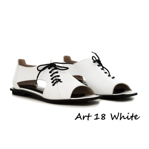 Shoes Art 18 White