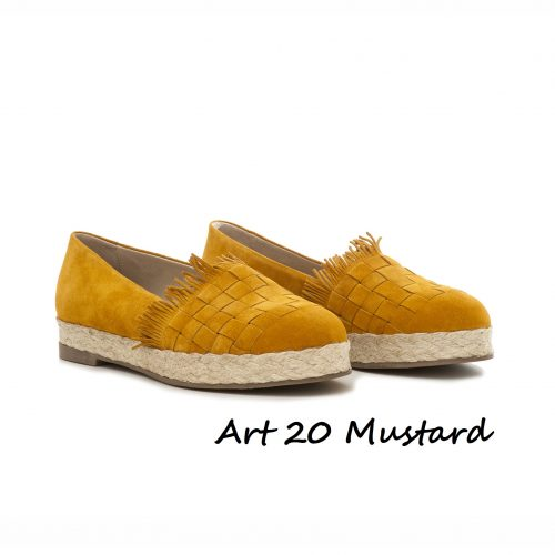 Shoes Art 20 Mustard