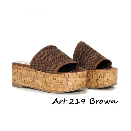 Shoes Art 219 Brown