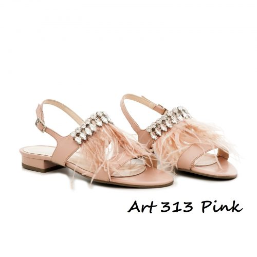 Shoes Art 313 Pink