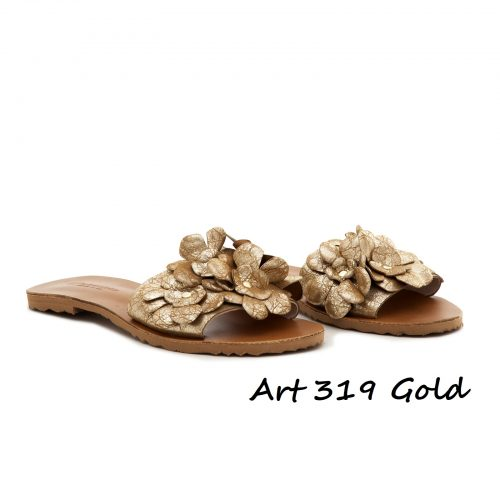 Shoes Art 319 Gold
