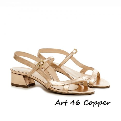 Shoes Art 46 Copper